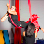 aerial silk Miami, aerial silk classes in Miami, aerial performance, kids aerial classes