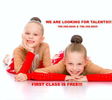 WE ARE LOOKING FOR TALENTS!!! SIGN UP FOR YOUR FIRST FREE CLASS TODAY!!!