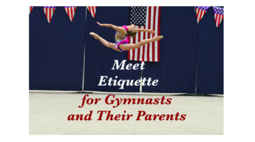 Meet Etiquette for Gymnasts and Their Parents